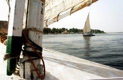 Paisaje urbano de Aswan Fotografía de archivo libre de regalías