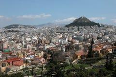 Paisaje urbano de Atenas   Imagenes de archivo