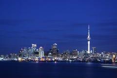 Paisaje urbano de Auckland Imagen de archivo libre de regalías
