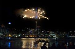 Paisaje urbano de Auckland Foto de archivo libre de regalías