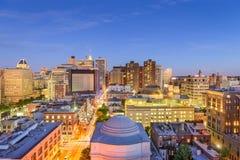 Paisaje urbano de Baltimore, Maryland fotos de archivo libres de regalías