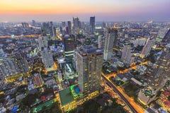 Paisaje urbano de Bangkok Fotografía de archivo libre de regalías