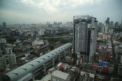Paisaje urbano de Bangkok Fotos de archivo libres de regalías