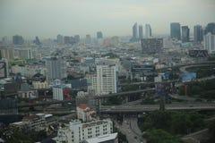 Paisaje urbano de Bangkok Fotografía de archivo