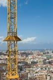Paisaje urbano de Barcelona Imagen de archivo libre de regalías