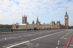 Paisaje urbano de Big Ben de Londres Fotografía de archivo