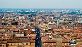 Paisaje urbano de Bolonia Fotos de archivo libres de regalías