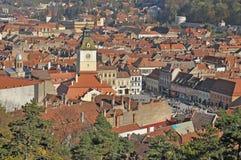 Paisaje urbano de Brasov Imagen de archivo