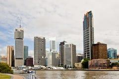 Paisaje urbano de Brisbane Fotos de archivo libres de regalías