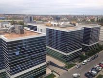 Paisaje urbano de Bucarest Imagenes de archivo