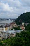 Paisaje urbano de Budapest Imagen de archivo libre de regalías