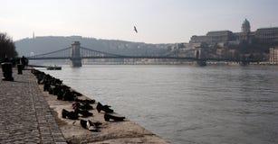 Paisaje urbano de Budapest Imagenes de archivo