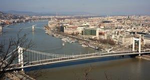 Paisaje urbano de Budapest Fotos de archivo libres de regalías
