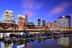 Paisaje urbano de Buenos Aires Fotografía de archivo libre de regalías