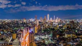 Paisaje urbano de Bunkyo Tokio almacen de video