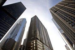 Paisaje urbano de Chicago Foto de archivo