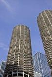 Paisaje urbano de Chicago Fotografía de archivo