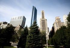 Paisaje urbano de Chicago Imagen de archivo libre de regalías