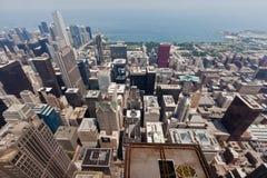Paisaje urbano de Chicago Imágenes de archivo libres de regalías
