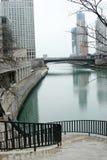Paisaje urbano de Chicago Fotos de archivo libres de regalías