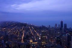 Paisaje urbano de Chicago Illinois Fotos de archivo