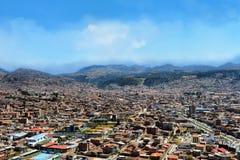 Paisaje urbano de Cusco Fotografía de archivo libre de regalías