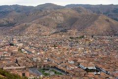 Paisaje urbano de Cusco Imágenes de archivo libres de regalías