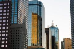 Paisaje urbano de Dallas Fotos de archivo libres de regalías
