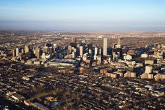 Paisaje urbano de Denver, Colorado, los E.E.U.U. fotos de archivo libres de regalías