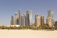 Paisaje urbano de Dubai Foto de archivo