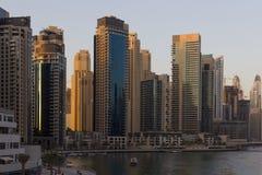 Paisaje urbano de Dubai Fotos de archivo