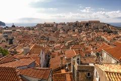 Paisaje urbano de Dubrovnik, Coratia Imagen de archivo libre de regalías
