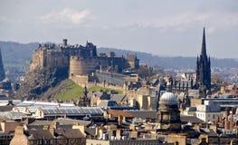 Paisaje urbano de Edimburgo Fotos de archivo libres de regalías