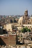Paisaje urbano de El Cairo imagen de archivo