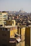 Paisaje urbano de El Cairo fotos de archivo