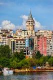 Paisaje urbano de Estambul Fotos de archivo libres de regalías