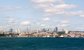 Paisaje urbano de Estambul Imagen de archivo libre de regalías