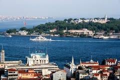 Paisaje urbano de Estambul Foto de archivo