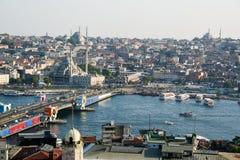 Paisaje urbano de Estambul Foto de archivo libre de regalías