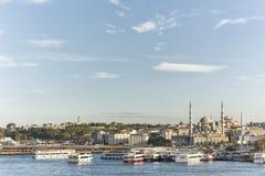 Paisaje urbano de Estambul, Turquía imagen de archivo libre de regalías