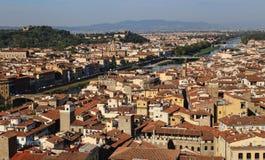 Paisaje urbano de Florencia, Italia Imágenes de archivo libres de regalías