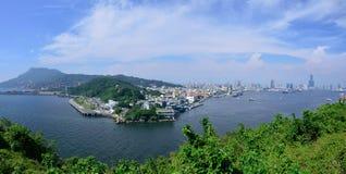 Paisaje urbano de Gaoxiong Fotos de archivo