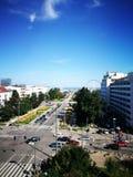 Paisaje urbano de Gdynia Imagenes de archivo