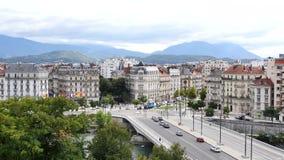 Paisaje urbano de Grenoble metrajes