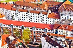 Paisaje urbano de Hamburgo de foto de archivo libre de regalías
