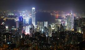Paisaje urbano de Hong-Kong Imagenes de archivo