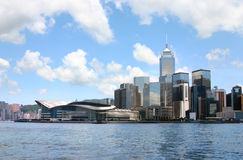 Paisaje urbano de Hong-Kong. Fotografía de archivo libre de regalías