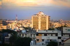 Paisaje urbano de Hyderabad Fotos de archivo