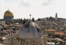 Paisaje urbano de Jerusalén Fotografía de archivo libre de regalías