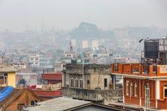 Paisaje urbano de Katmandu Imagen de archivo libre de regalías